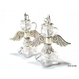Náušnice - čirý andílek - andělíček