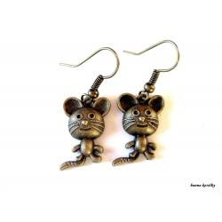 Náušnice - myšky