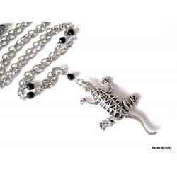 Náhrdelník - ještěrka