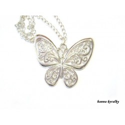 Dlouhý řetízek - motýl