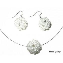 Souprava - náhrdelník a náušnice