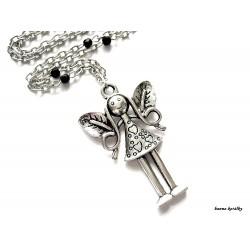 Řetízek - anděl - víla andělka