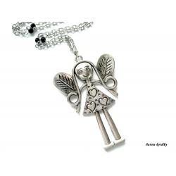 Dlouhý řetízek - velká andělka - anděl