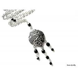 Náhrdelník - platinová kapka