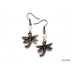 Náušnice - vážky