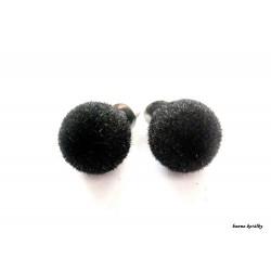 Náušnice - puzetky - tyrkysové kuličky