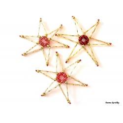 Vánoční ozdoby - hvězdy 8.