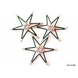 Vánoční ozdoby - hvězdy 11.