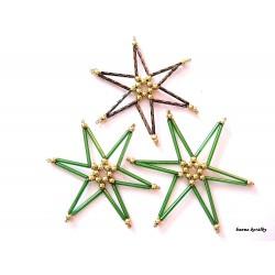 Vánoční ozdoby - hvězdy 14.