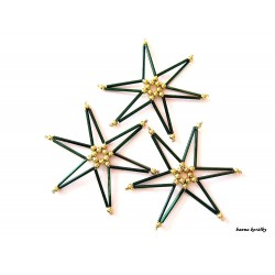Vánoční ozdoby - hvězdy 15.