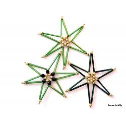 Vánoční ozdoby - hvězdy 16.