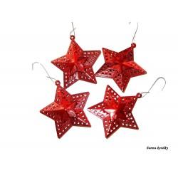 Vánoční ozdoby - hvězdy 27.
