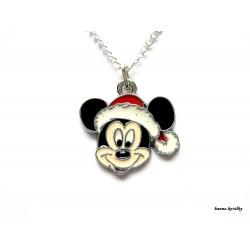 Řetízek Santa Mickey - myšák Miky