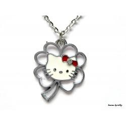 Řetízek Hello Kitty  - čtyřlístek