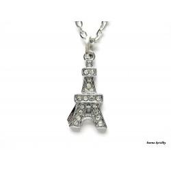 Řetízek - Eiffelovka s kamínky