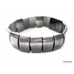 Pánský náramek - magnetický hematit 2.