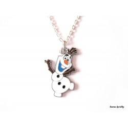 Řetízek sněhulák Olaf