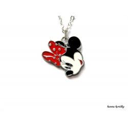 Řetízek Minnie s červenou mašlí